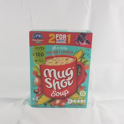 Mug Shot Soup Vegetable Chowder 75g