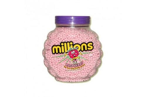 Millions Vegan Raspberry Sweets Jar 2.27 Kg