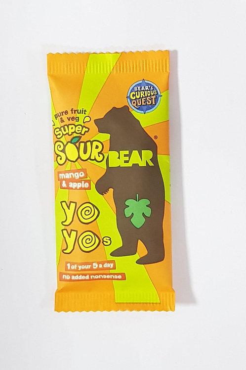 Yo Yo Bear - Mango & Apple 20g