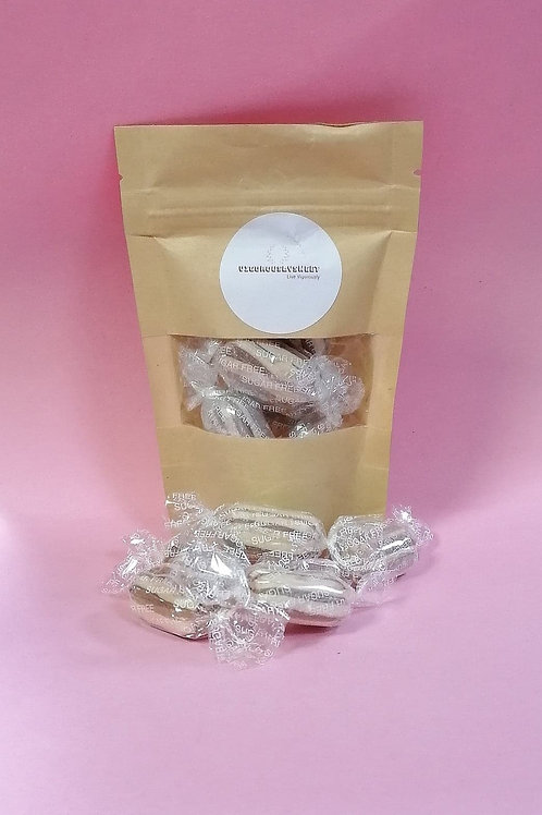 Stockleys Sugar free Mint Humbugs Sweets Pouch