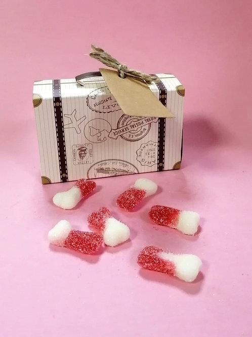Sweetzone Fizzy Bones Fancy Sweet Box Halal 50g