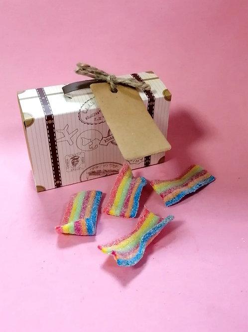 Sweet zone Rainbow Belts Sweet Box Halal 50g