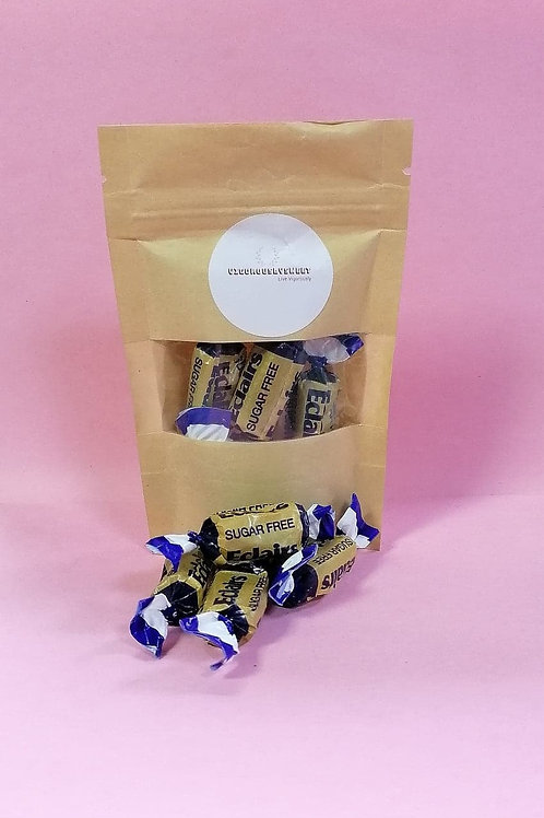 Bonds of London Sugar Free Chocolate Eclairs Sweets pouch