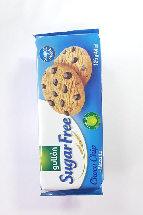 Gullon SUGAR FREE Choco Chip Biscuits 125g