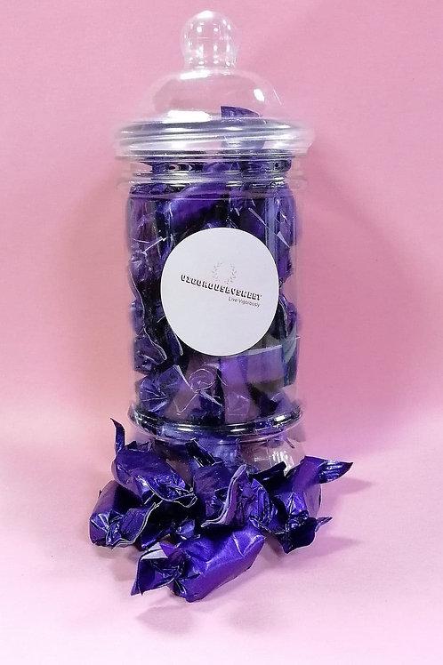 Stockleys Sugar free Liquorice Toffee Sweets Jar