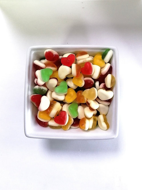 Sweetzone Halal Sweets Fruity Hearts Jar