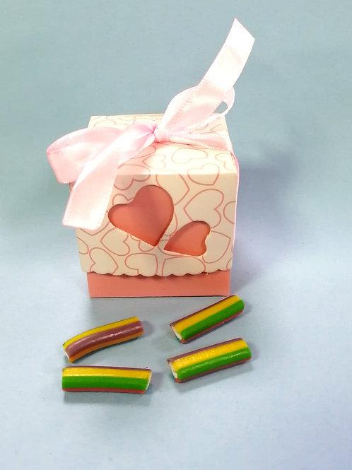 Fini - Tutti Fruity Pencil - Halal - Fancy Sweet Box 50g