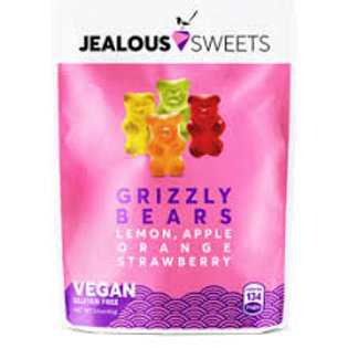 Jealous Sweets - Grizzly Bears - Lemon, Apple, Orange & Strawberry 40g