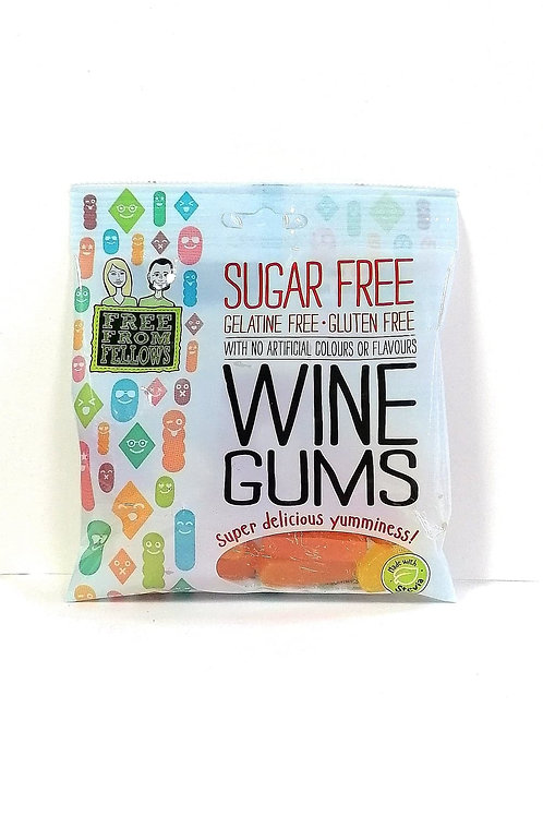 Free From Fellows sugar free Wine Gums Sweets 100g