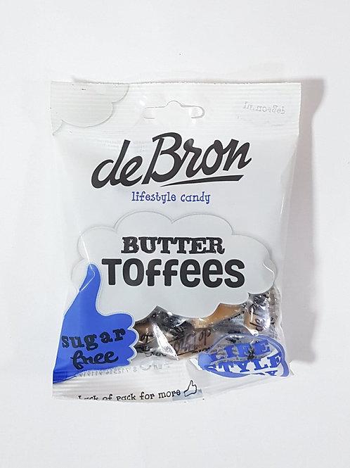 De Bron Sugar Free Butter Toffee 100g