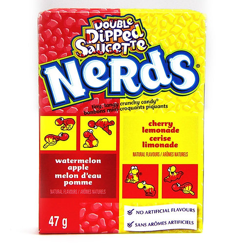 Double Dipped Lemonade Wild Cherry & Apple Nerds 46g