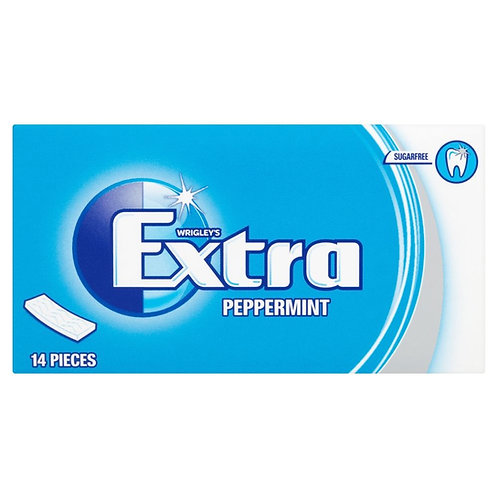 Wrigley's Extra Peppermint Sugar Free Chewing Gum 26.6g