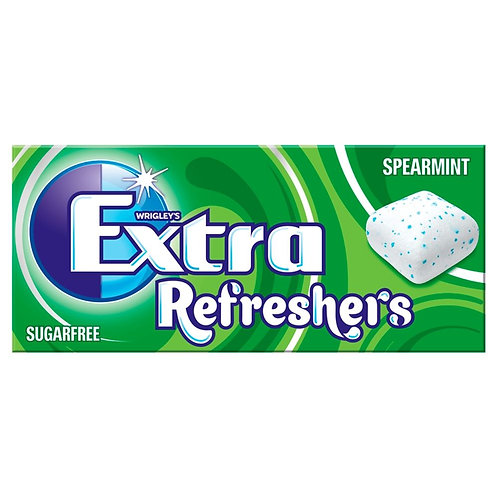Wrigley's Extra Refreshers Spearmint Sugarfree Chewing Gum 15.6g