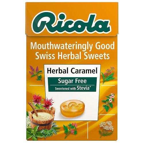 Ricola Herbal Caramel Swiss Herbal Sweets 45g