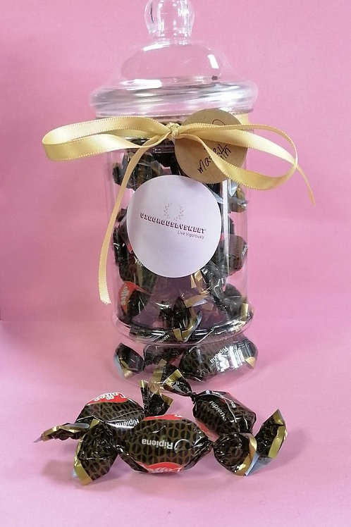 Liking Vegan Coffee Candy sweets jar