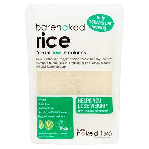 Barenaked Rice Zero Fat 380g