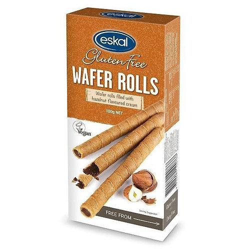 Eskal - Wafer Rolls with Hazelnut Flavoured Cream 100g