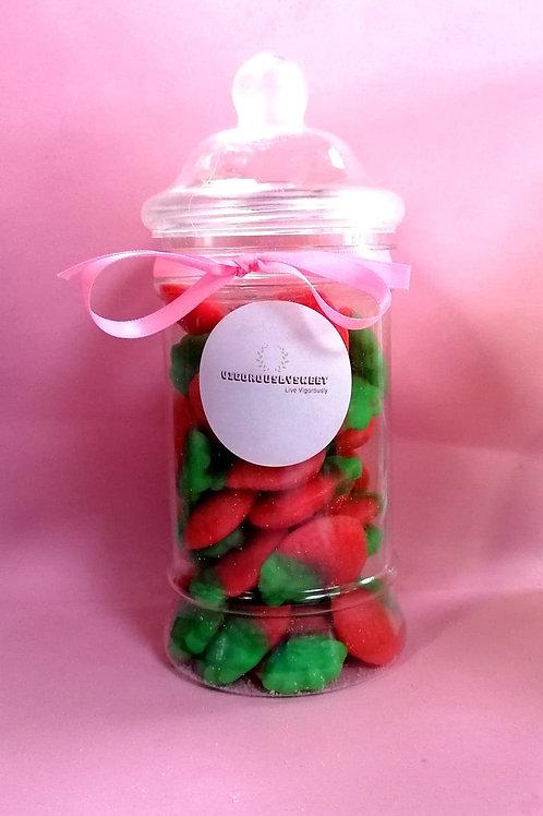 Sweetzone - Giant Strawberry - Sweet Jar