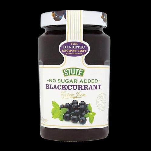 Slute No Sugar Added Blackcurrant Jam 430g