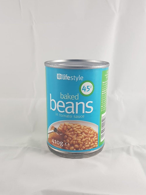 Lifestyle Baked Beans 410g