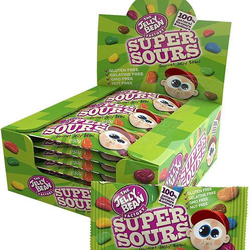 Jelly Bean Factory - Super Sours - Sachet 50g
