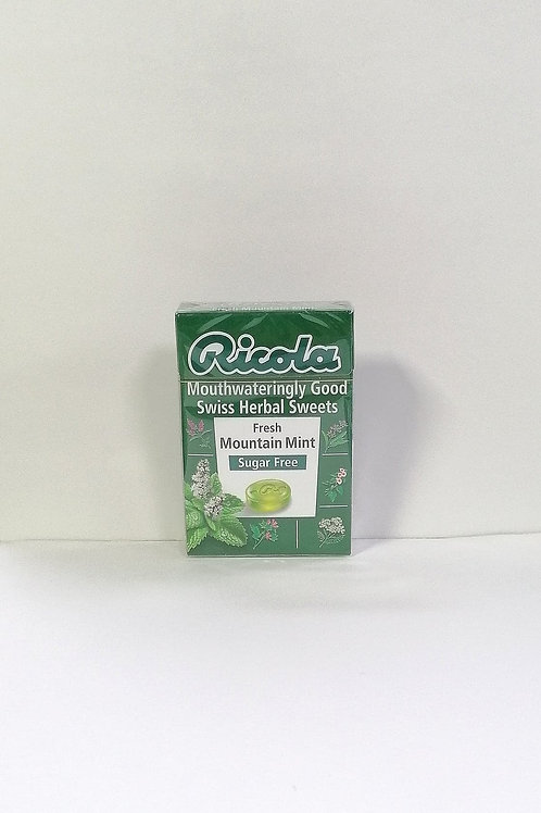 Ricola Sugar free Fresh Mountain Mint Swiss Herbal Sweets 45g