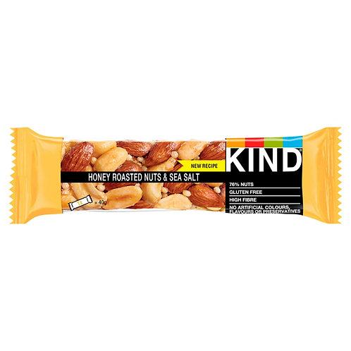 KIND Honey Roasted Nuts & Sea Salt Bar 40g