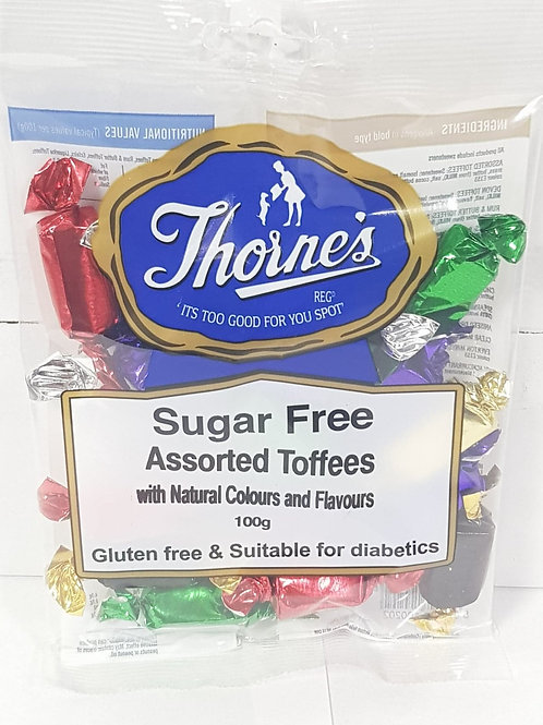Thornes Assorted Toffee - Sugar Free - Gluten Free - Suitable for diabetics