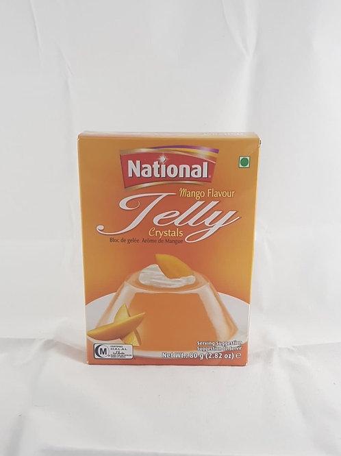National Crystal Jelly Mango 80g
