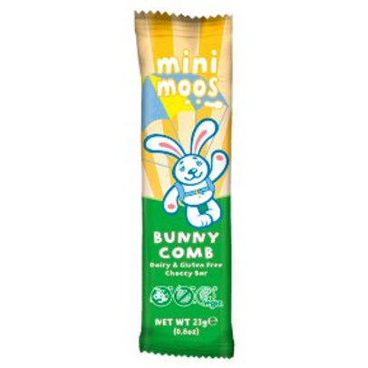Mini Moos Bunny Comb Chocolate 23g