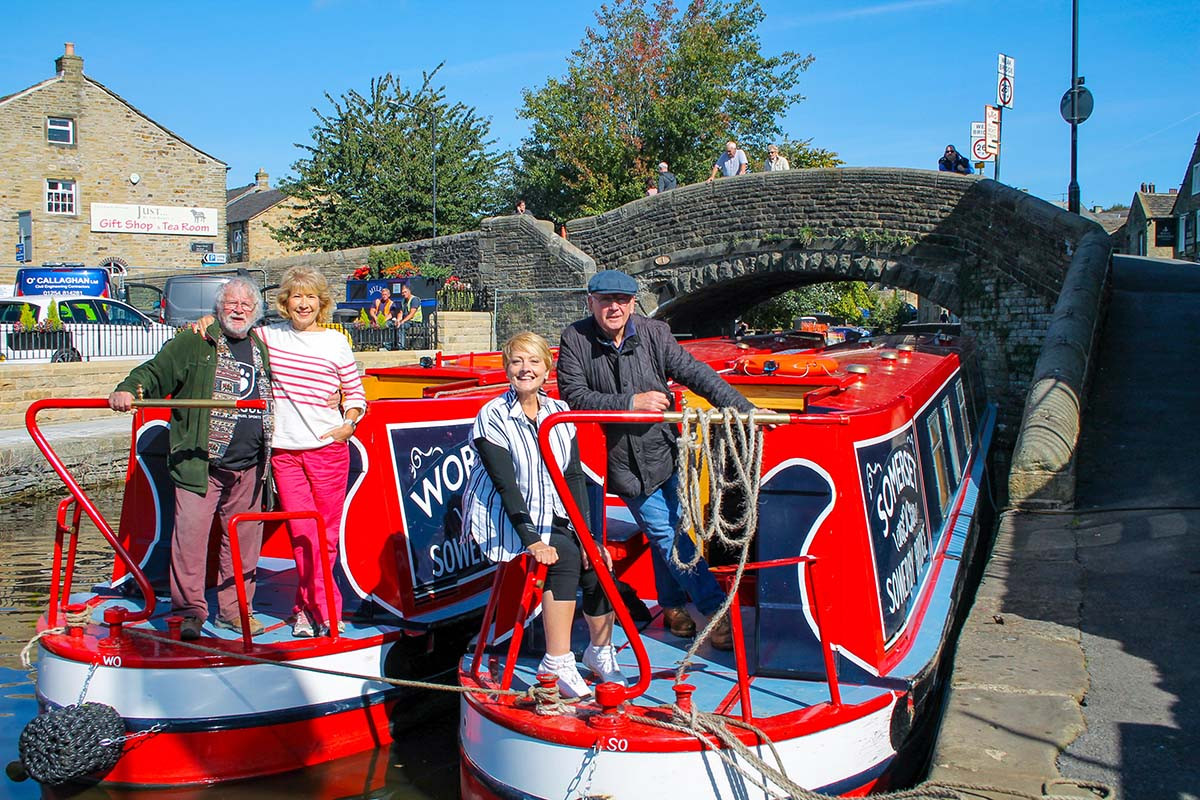 Barging Britain: Then and Now   Channel 5