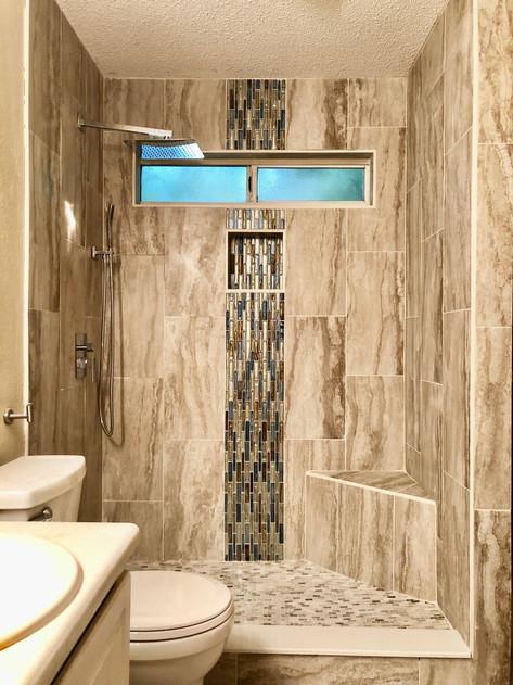 Walk-in Shower Renovation