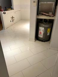 Shower Floor Installation