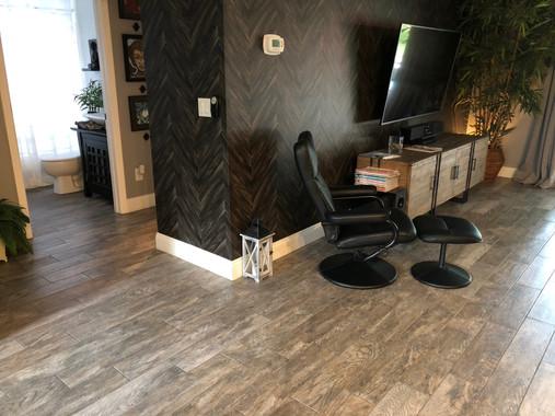 Tile Floor Iinstallation