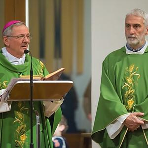 Il Vescovo Claudio tra noi