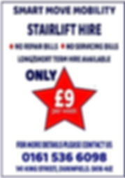 Smart Move Low Cost Mobility Stairlift Hire