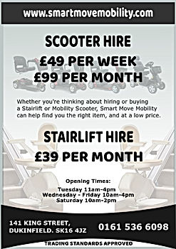 Mobility Scooter & Stairlift Hire/Rental from Smart Move Mobility