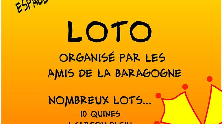 Loto organisé par Les Amis de la Baragogne.