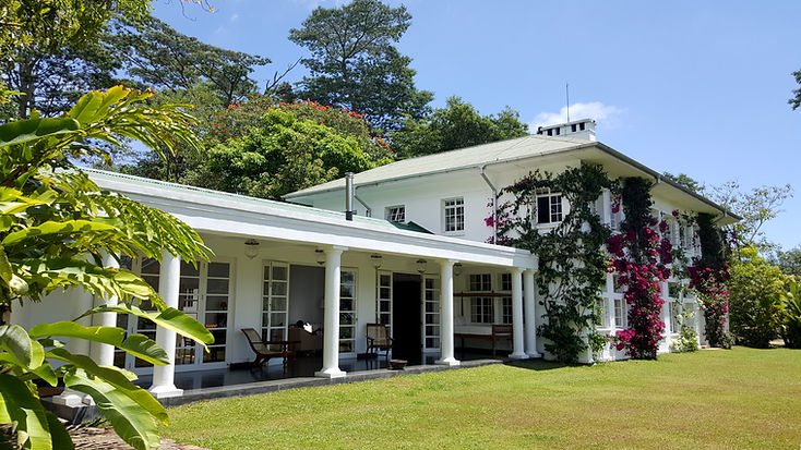 The Planters House Hotel Lawn and Veranda