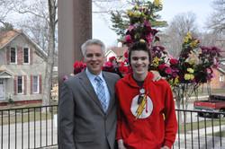Pastor Bean & son Brendan