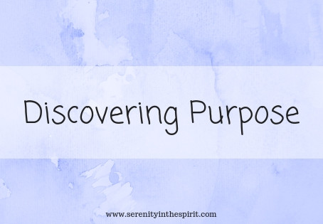 Discovering Purpose - Part 1