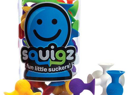 "Squigz - ""Fun little suckers"""