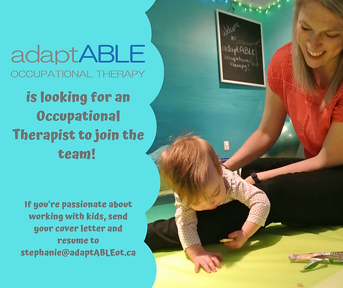 is looking for an occupational therapist