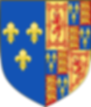 Mary's arms as Queen of Scotland and France with the arms of England added, used in France before the Treaty of Edinburgh, 1560