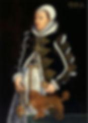 Catherine Carey bySteven van der Meulen,  1562