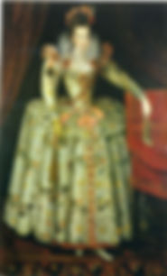 Anne Vavasour Lady-in-waitingat the court ofElizabeth I, John de Critz. 1605