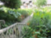 The gardens at Anne Hathaways Cottage