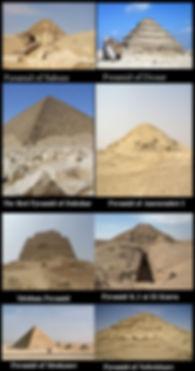 Pyramids Egypt.