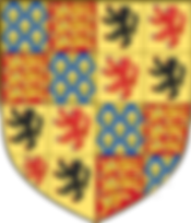 PHILIPPA OF HAINAUT'S ARMS AS QUEEN CONSORT