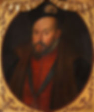 John Dudley 1st Duke of Northumberland byUnknown Artist between 1605 and 1608
